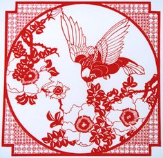 southern chinese paper cutting
